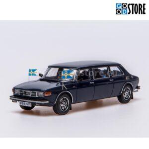 SAAB 99 Limousine King Carl XVI Gustaf 1976 1:43 skaalas