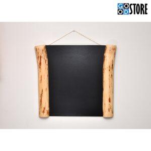 Kriiditahvel, puidust, suur, must