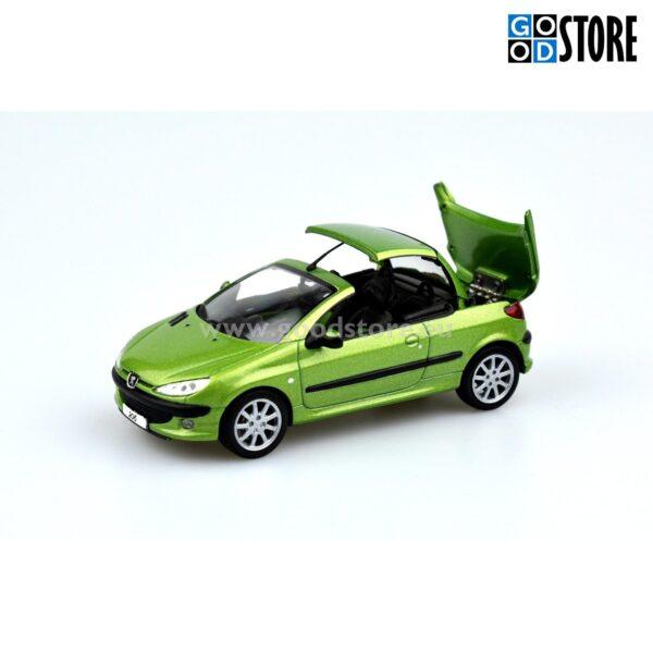 Peugeot 206 CC Hardtop Convertible M2001 1:43 skaalas