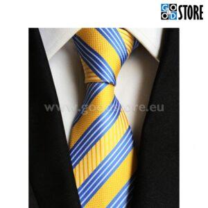 Lips ülikonna kõrvale, kollase ja sinise triibuline, eriti moodne!