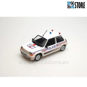 Renault 5 Turbo Prantsuse Politsei M1985 1:43 skaalas