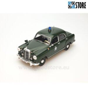 Mercedes-Benz 180D Saksa Politsei M1953 1:43 skaalas