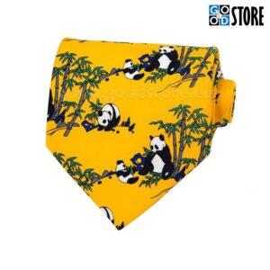 Seotav lips, panda karudega pastelne kollane