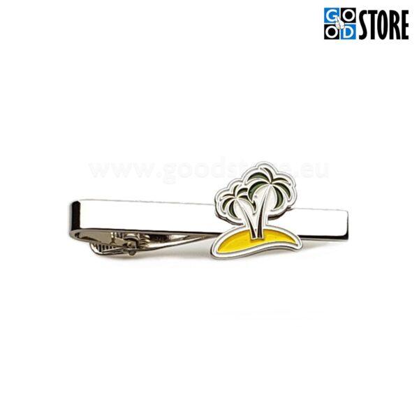 Eksklusiivne lipsunõel palmidega, eritellimus, pastelsetes toonides