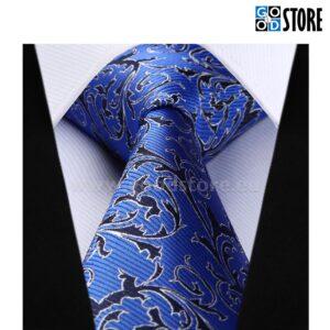 Stiilse lipsu komplekt, esinduslik sinine ja must