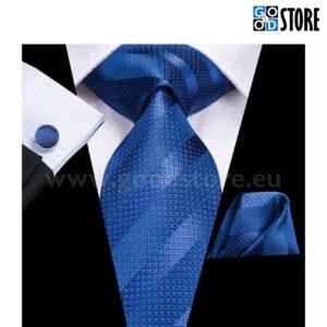 Pidulik seotava lipsu komplekt, kuninglik sinine