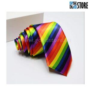 Seotav lips, stiilne, kitsas, vikerkaare värvides